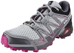 Vitesse Solomon Croix Vario 2 Gtx Chaussures Running Femmes Gris / Essence Uk 6 / Eu 39 1/3 2018 Chaussures De Course De Piste V0Myy